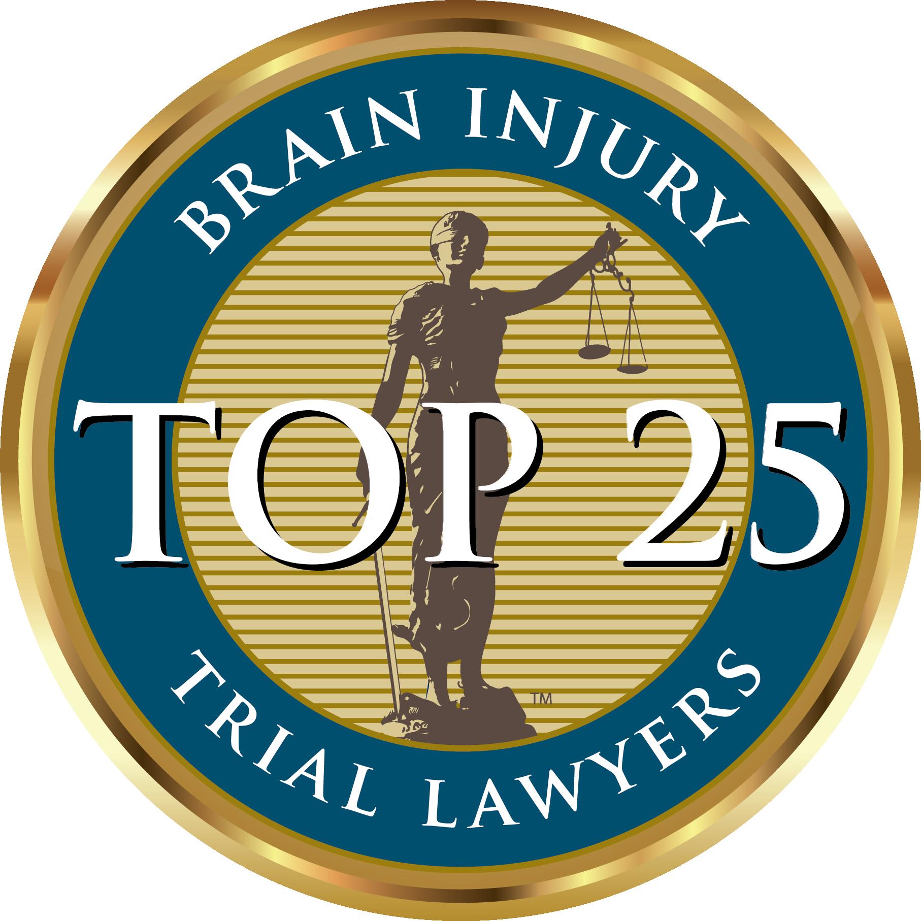 Brain Injury Top 25 Trial Lawyers